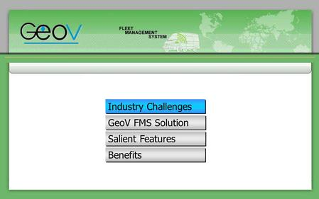 Industry Challenges GeoV FMS Solution Salient Features Benefits.