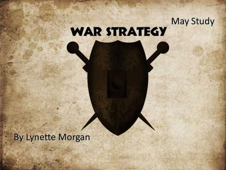 "May Study By Lynette Morgan. ""Christians can become preoccupied with battling Satan…fighting battles that Christ has already won. If Satan can diverge."