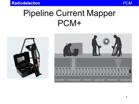 Pipeline Current Mapper PCM+