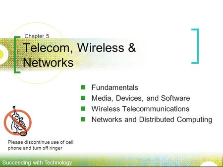 Telecom, <strong>Wireless</strong> & <strong>Networks</strong>