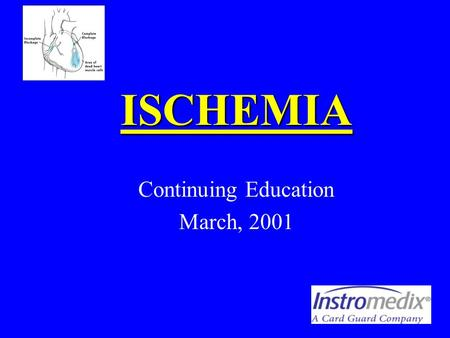 Continuing Education March, 2001
