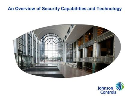 An Overview of Security Capabilities and Technology.
