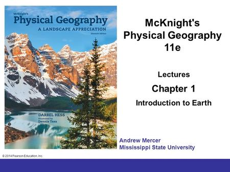 McKnight's Physical Geography 11e
