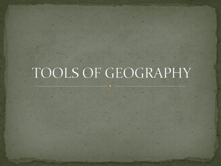 GEOGRAPHY is the study of the world's environment and man's interaction within the environment GEOGRAPHY has two strands or parts: PHYSICAL the study.
