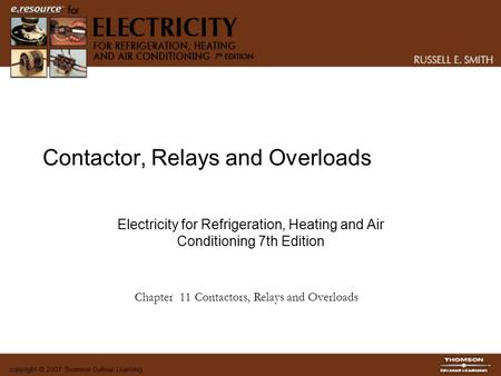 Contactor, Relays and Overloads