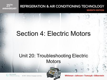 Section 4: Electric Motors