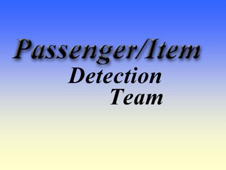 Passenger/Item Detection System for Vehicles Dec03-05 members Jason Adams Ryan Anderson Jason Bogh Brett Sternberg Acknowledgements Clive Woods – Advisor.