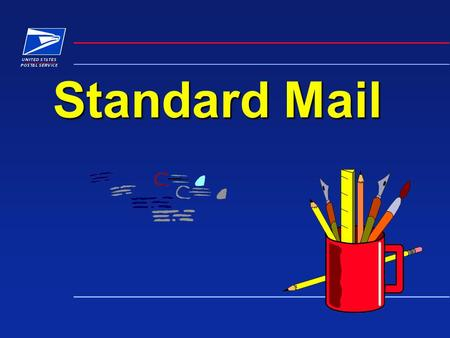 Standard Mail. PROCESSING CATEGORIES STANDARD MAIL PROCESSING CATEGORIES Letters Letters Flats Flats Machinable Parcels Machinable Parcels Irregular Parcels.