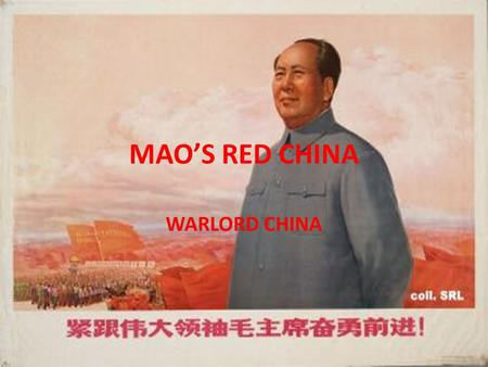 MAO'S RED CHINA WARLORD CHINA. The Wuchang Rebellion Rebellion Breaks Out After Police Brutality Sworn Chinese Brotherhood Takes Action New Army Joins.