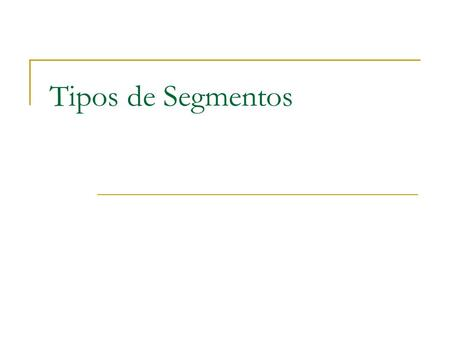 Tipos de Segmentos. B-Tree Index Index entry header Key column length Key column value ROWID Root Branch Leaf Index entry.