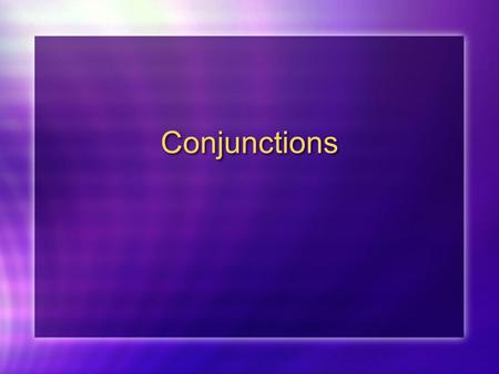 Conjunctions. Conjunctions that require the Indicative como - given that puesto que - since ya que - due to the fact that como - given that puesto que.