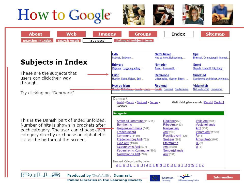 AboutWebImages IndexGroups Produced by, Denmark.