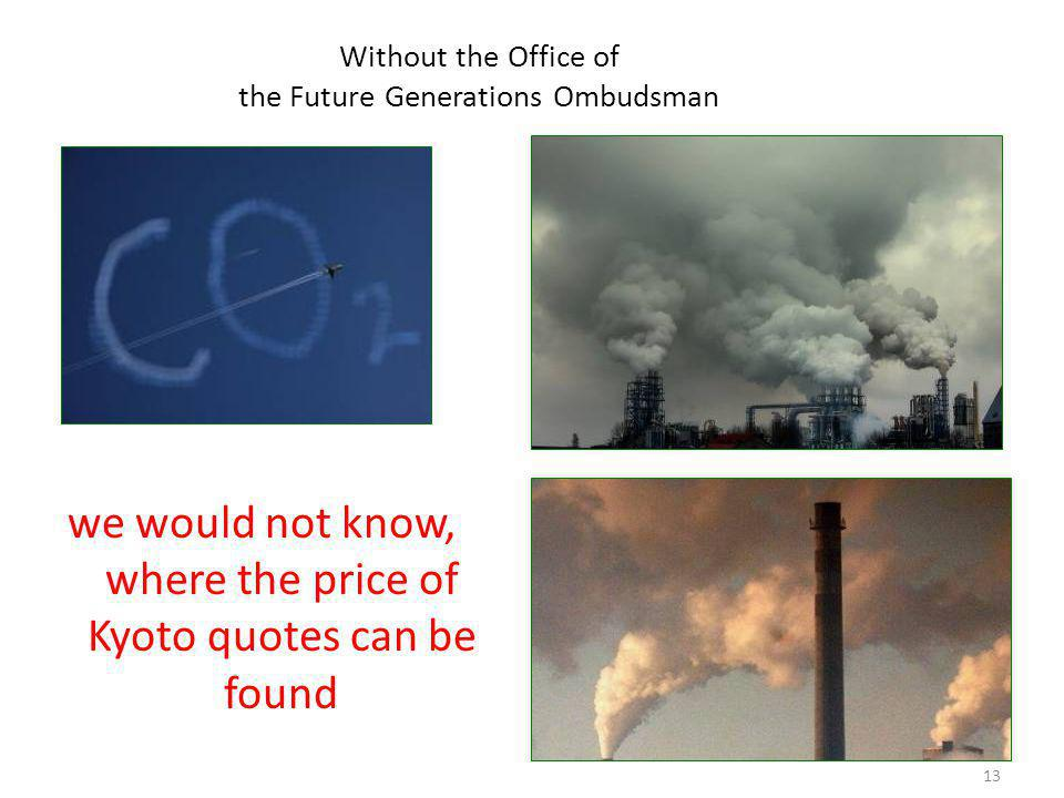 14 Without the Office of the Future Generations Ombudsman the Red Bull Air Race would still endanger the protected site
