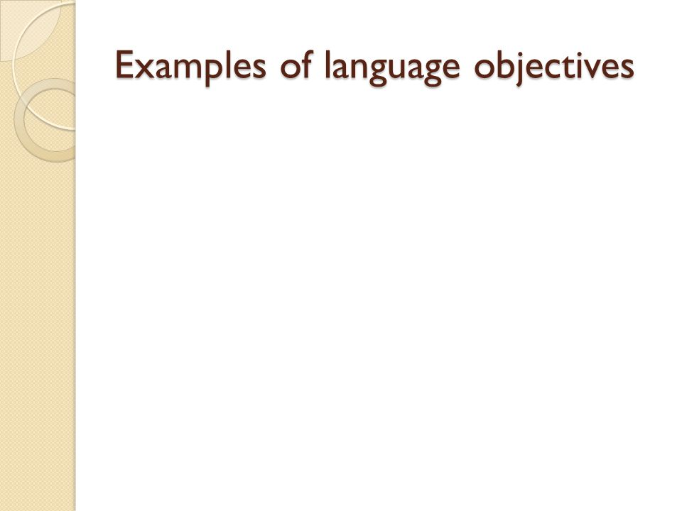 Activity: Part 3 Design an assessment task that you could use after you have taught the lesson to examine student learning of the language demands.