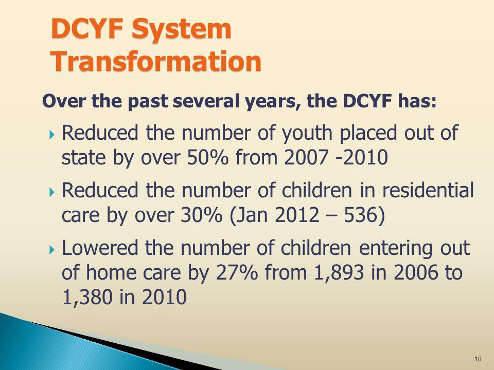 11 What is System of Care.