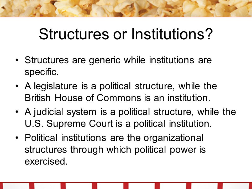 Human Nature and Political Institutions A society s basic view of human nature is a reasonable place to start working on a general understanding political institutions.