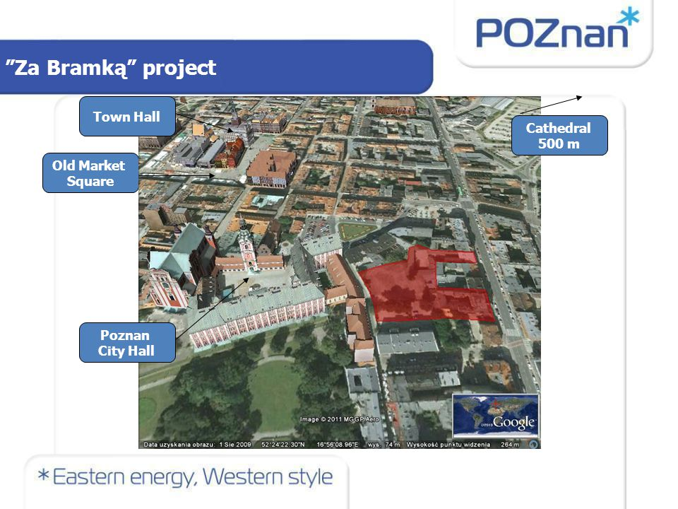 Project description: Construction of a commercial or commercial and housing building together with a multi-storey car park for around 400 cars in Za Bramką Street (A) Renovation of a historic building of commercial function and construction of a commercial building in an annex on Garbary Street (B) Renovation of a commercial and housing tenement in Garbary Street (C) Construction of a commercial and housing building in Garbary Street (D) Za Bramką project