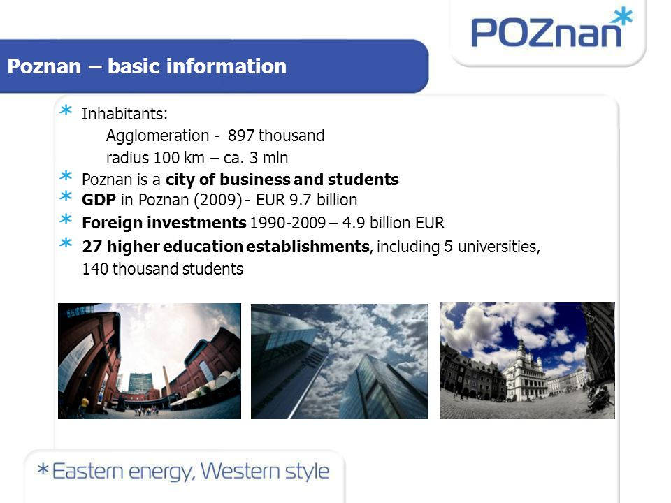 Investments in Poznan
