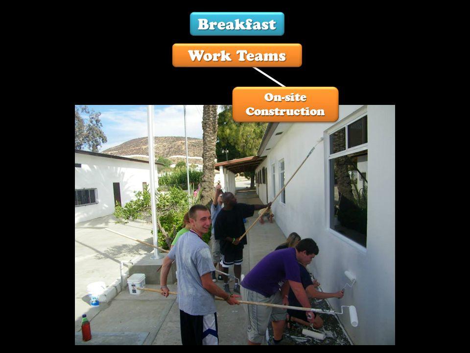 Breakfast Kitchen Pre-School VBS