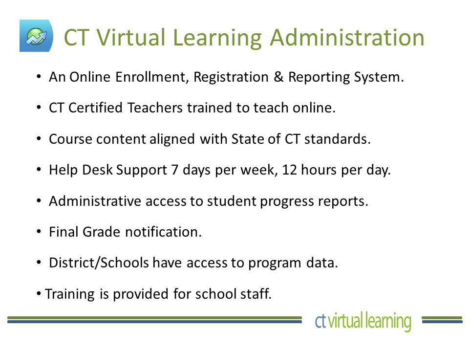 The Coordinator at Your School Will: Register and enroll students in their courses.