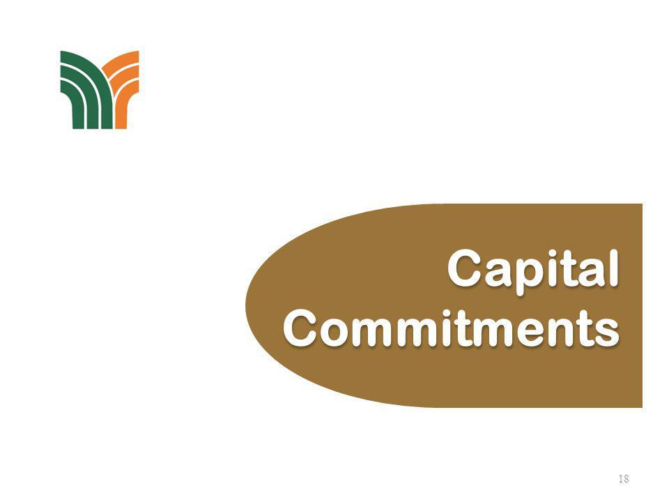 19 (All figures in RMmillion)2013 As reported previously (7 March 2013) 592 Additions/ Project Revision 107 699 Amount Spent (171) Balance to be Spent 528 Capital Commitments