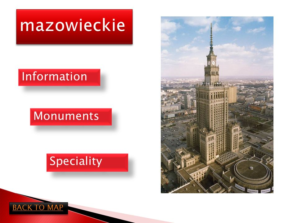 Mazowieckie Voivodeship is the biggest and heaviest populated province of Poland.