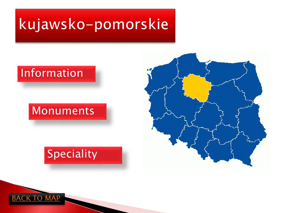 Kujawsko-Pomorskie district is in north part of Poland.
