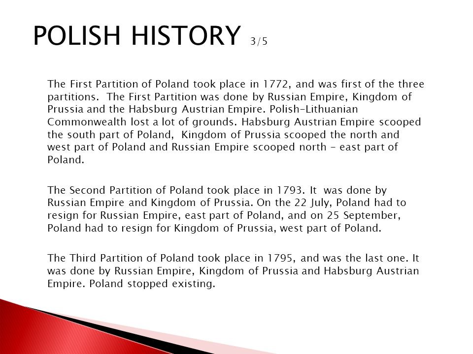 Poland would be briefly resurrectedif in a smaller framein 1807, when Napoleon set up the Duchy of Warsaw.