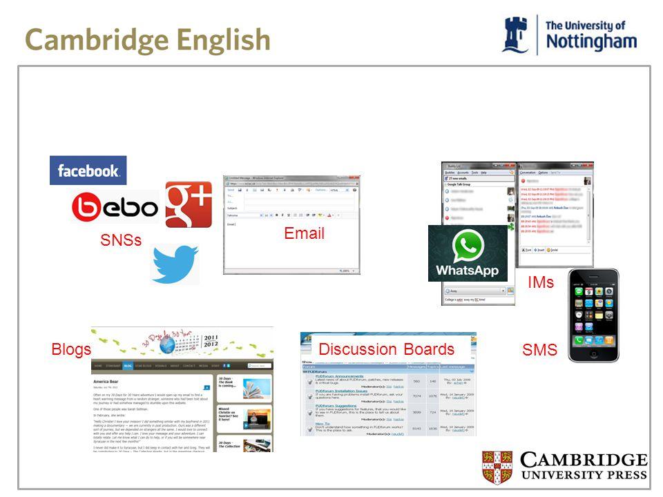 WHY study e-language.
