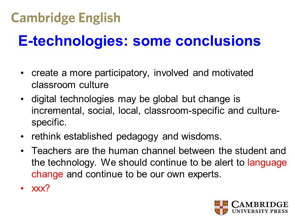 Further Reading: e-communication Baron, N.