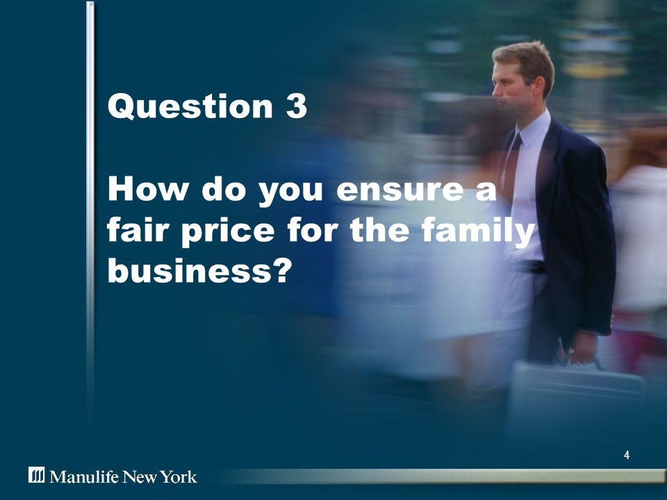 Question 4 How do you protect your business from the loss of a key employee? 5