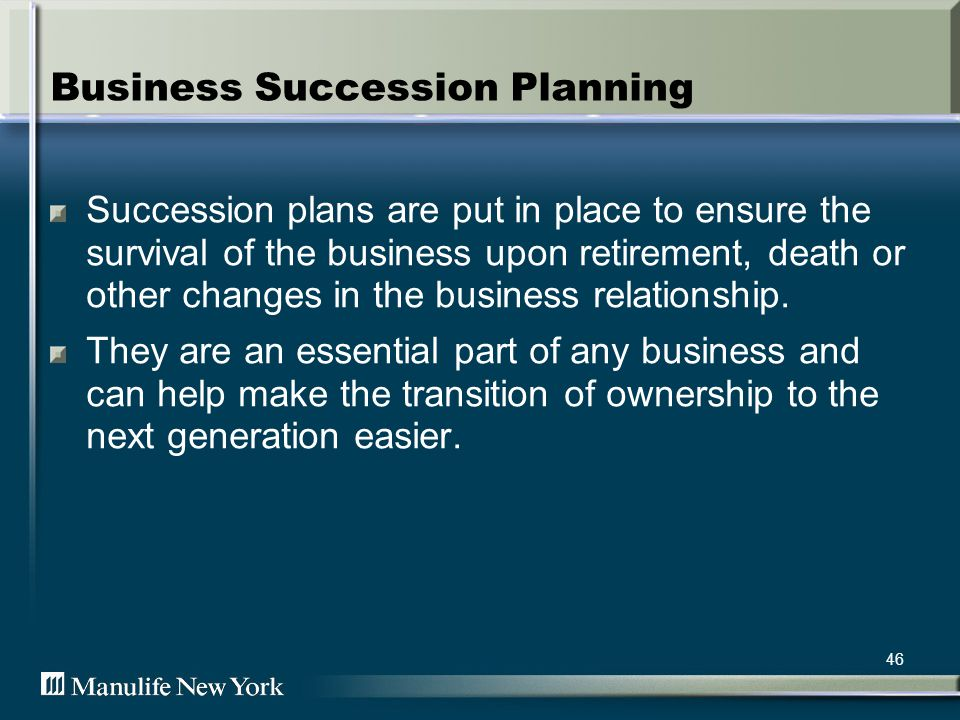 Many small businesses in America fail as a result of improper planning 47