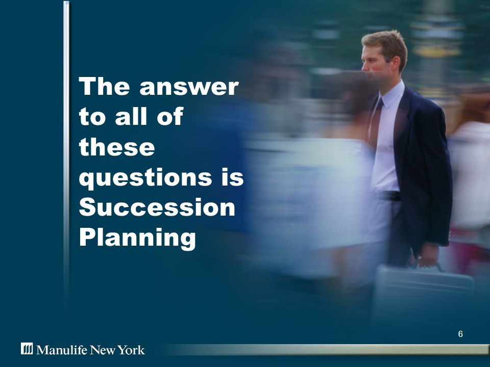 Small Businesses can fail without proper succession planning 7