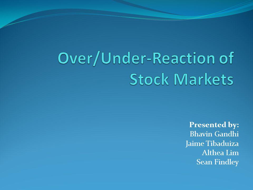 Does the Stock Market Overreact? ByWerner F. M. De Bondt; Richard Thaler