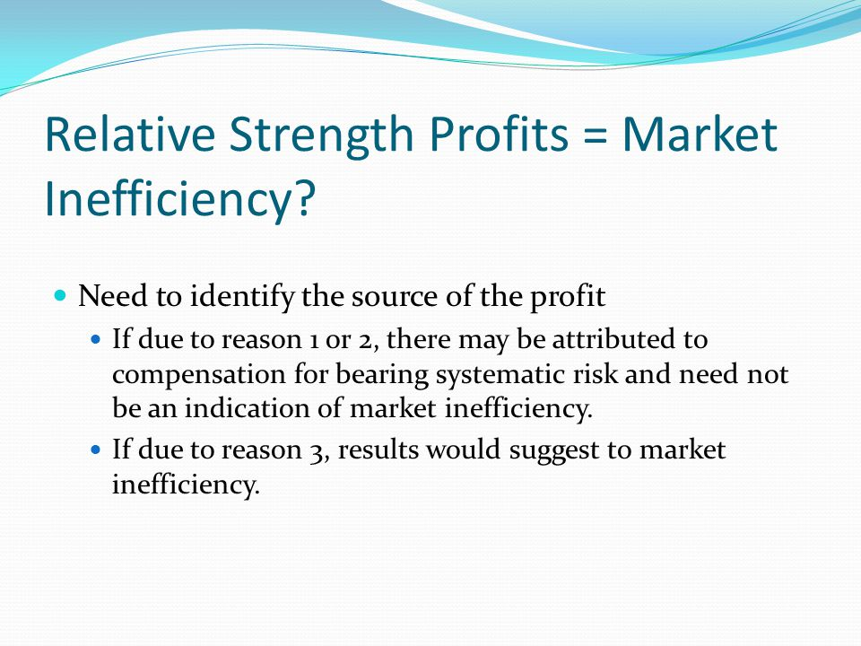 The Average Size and Beta of Relative Strength Portfolios Does this strategy systematically pick high-risk stocks?