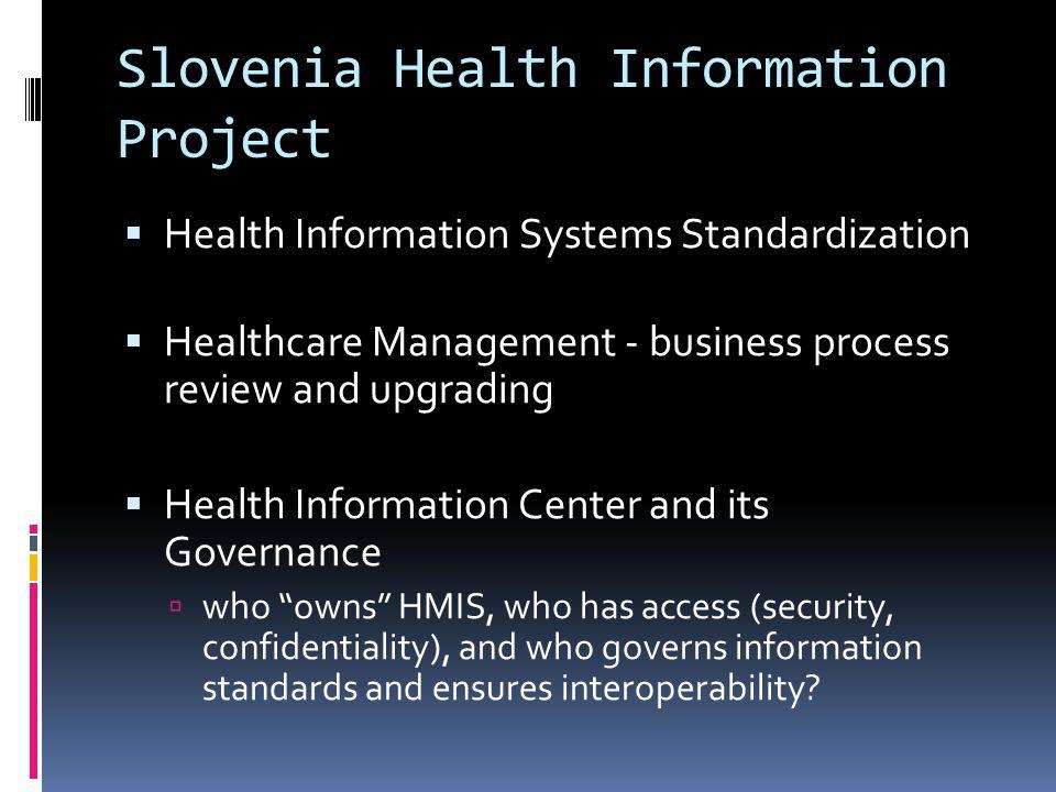 HMIS in West Bank/Gaza – an integral part of Health Systems Development Government Computer Center and Clinical Information System In 2000, a low-cost, secure platform was made available through the Government Computer Center.