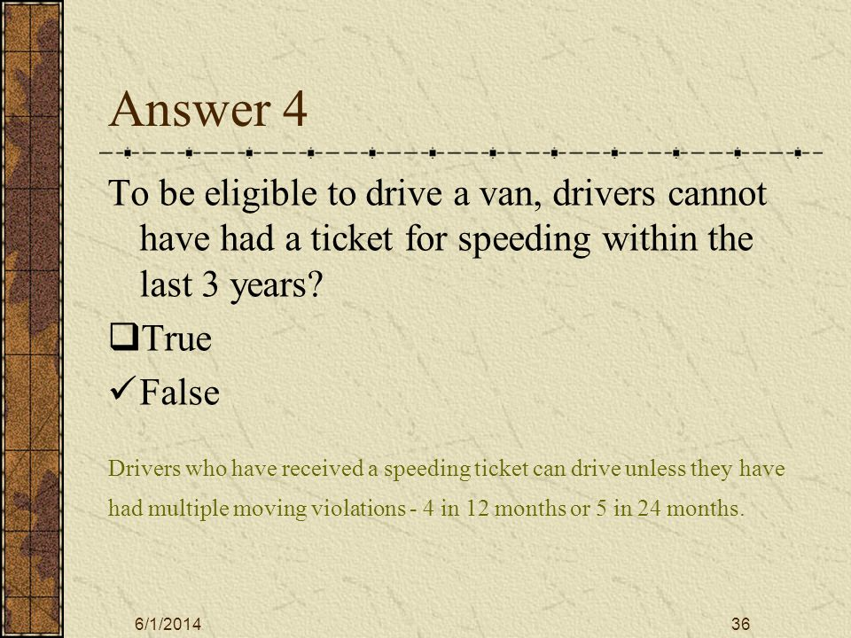 6/1/201437 Answer #5 If you are involved in an accident, which of the following are true.