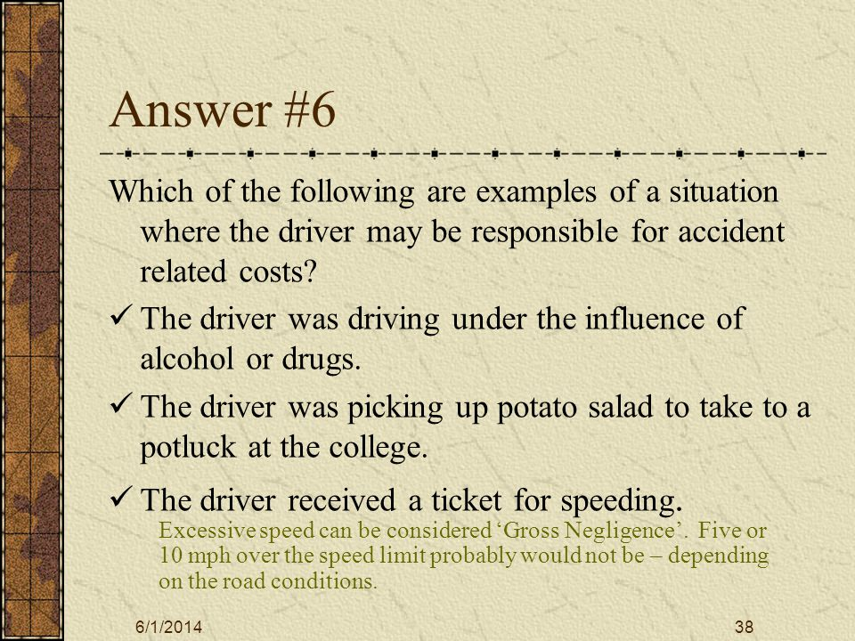 6/1/201439 Answer #7 Who should you call if you have a problem with the vehicle.