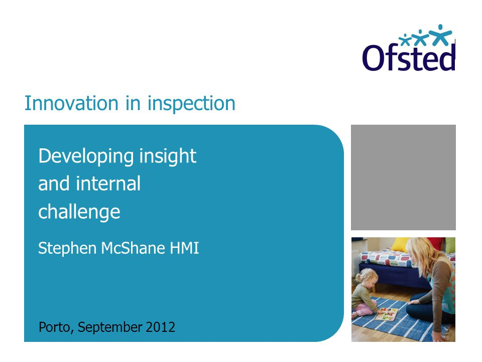 SICI Conference September 2012 2 Established October 2011 Provides internal challenge on how we inspect: evaluates inspection frameworks and informs practice Uses analysis of evidence to look outwardly at particular issues: briefs the Chief Inspector on educational policy and identifies good/best practice – Chief Inspector raises issues with Minister Includes Ofsteds international work and contacts with the academic community – we want to learn about best practice elsewhere Purposes of the Challenge and Analysis team
