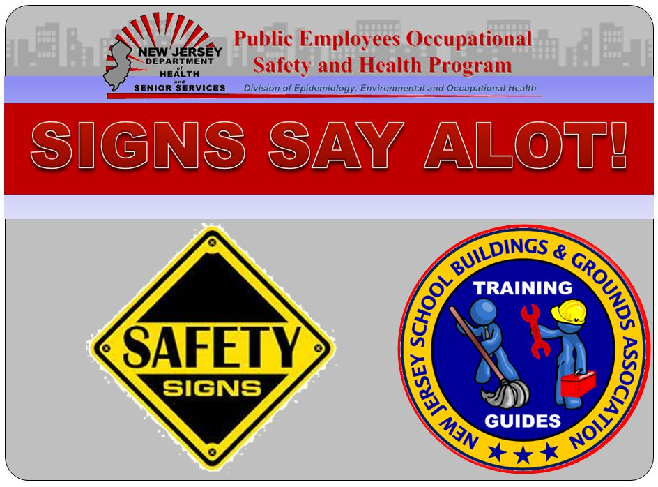 Click to edit Master text styles – Second level Third level – Fourth level » Fifth level Hazard signs Your workplace has signs to remind you to be careful.