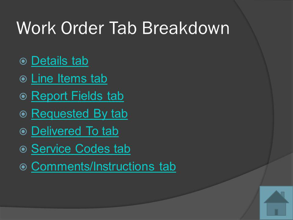 Select a customer Right click on an inventory piece This is where you can select Add Selected Inventory To New Work Order or Add Selected Inventory To Existing Work Order Back to Outbound Work Orders