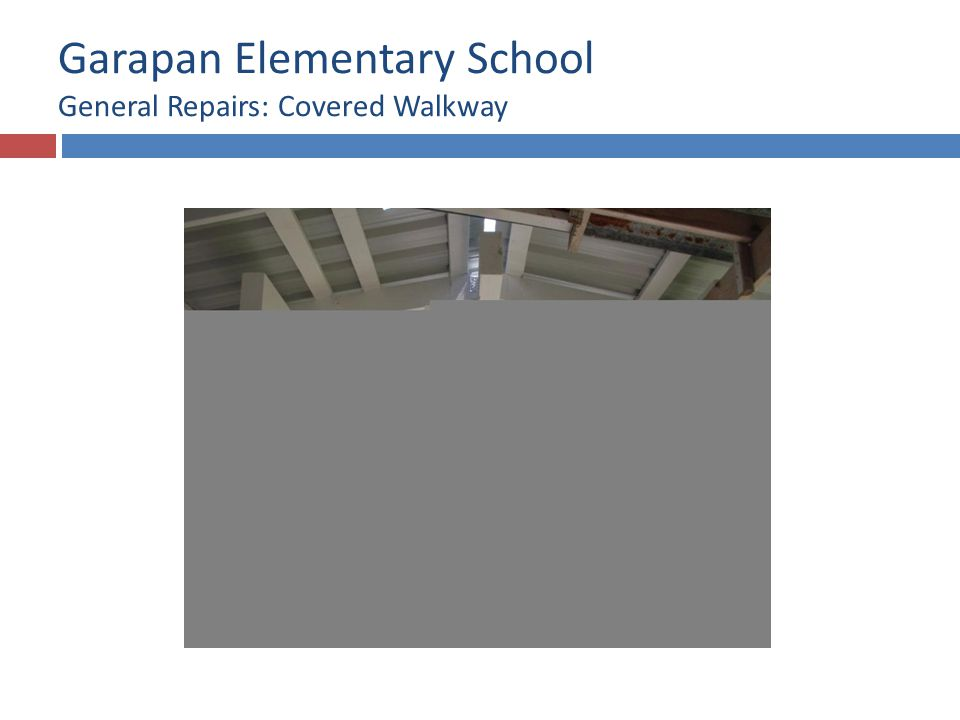 Garapan Elementary School Roof Replacement