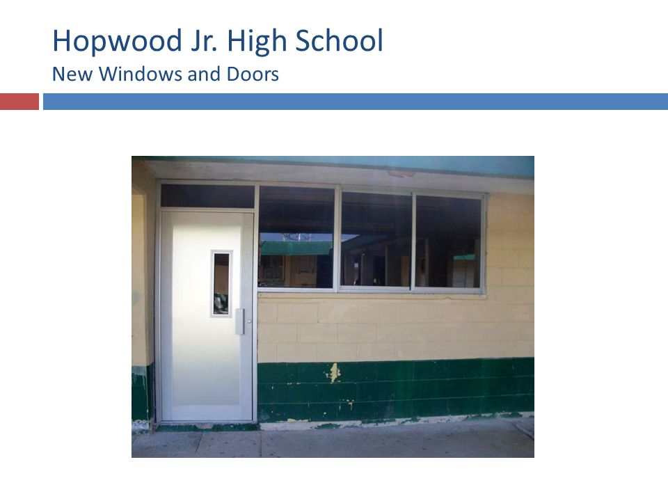 Hopwood Jr. High School Painting