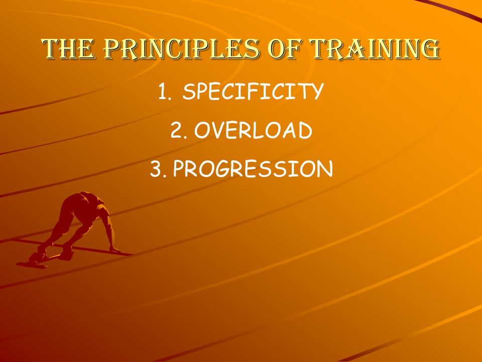 Your training is geared specifically towards your goals.
