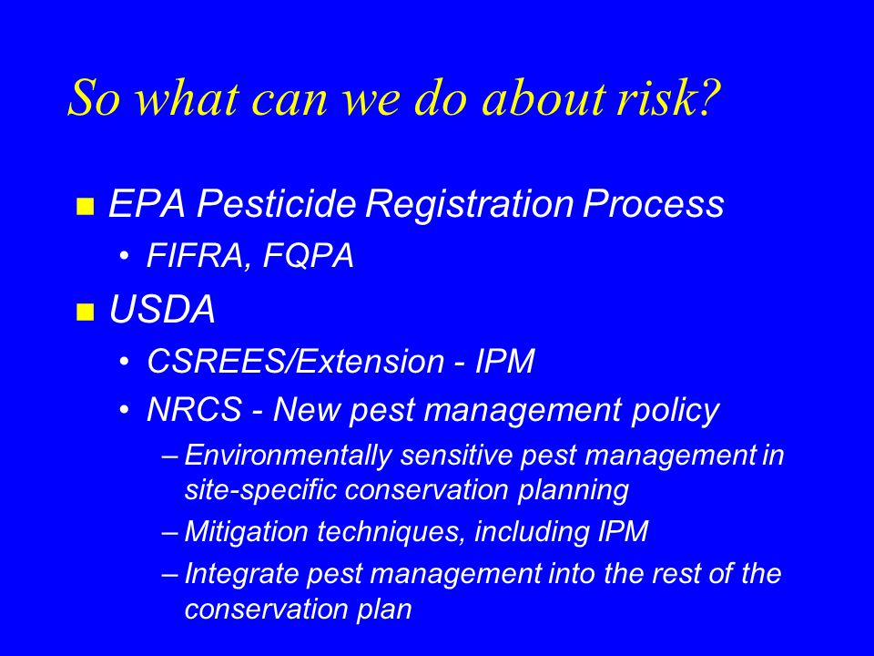 What is NRCS Pest Management.