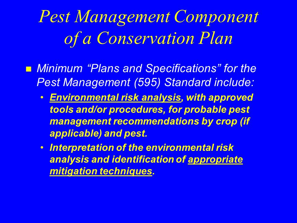 Environmental Risk Analysis n Windows Pesticide Screening Tool WIN-PST provides: –Soil/Pesticide Loss Ratings the potential to move offsite –Soil/Pesticide Hazard Ratings offsite movement potential combined with exposure adjusted toxicity rating Based on the Soil/Pesticide Interaction Screening Procedure II (SPISP II)