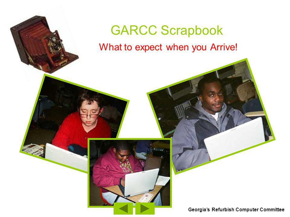 GARCC Scrapbook What to expect when you Arrive.Michael Cox – Juvenile Arthritis – Hand Writing.