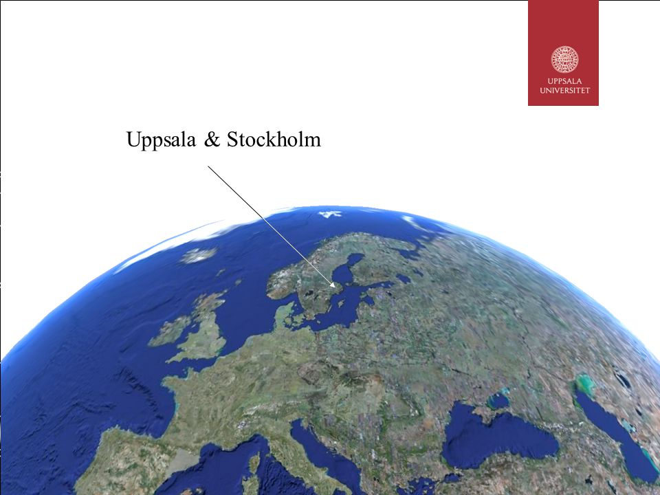 Life science regions in Sweden Over 750 life science companies in Stockholm-Uppsala 60 life science companies in Stockholm-Uppsalas business incubators Rest of Sweden 4% Göteborg 17% Malmö/Lund 20% Stockholm/ Uppsala 54% Umeå 3% Source: VINNOVA and Stockholm-Uppsala Life Science