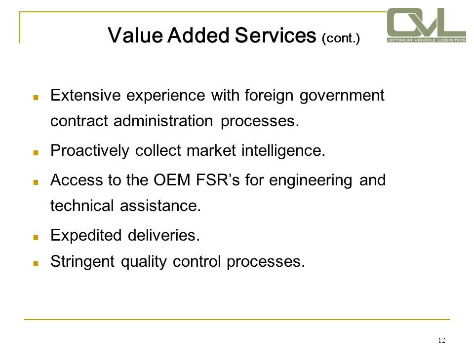 13 Customer Benefits Increase operational readiness.