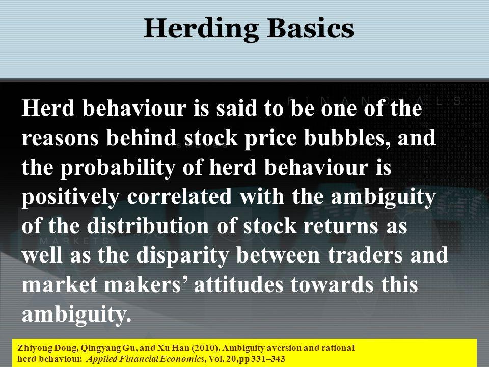Herding Basics: A model Klaus K.Kultti and Paavo A.